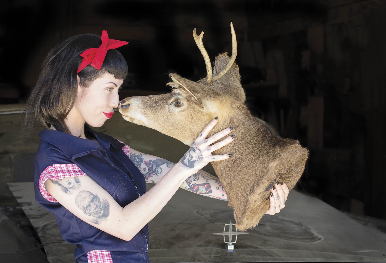 Connie Deer Edit black bkg