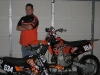 Brad Ward and his pumped up Mean Machines
