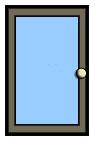 Full Glass Door