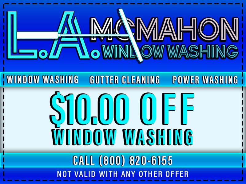 Window Washing Coupon