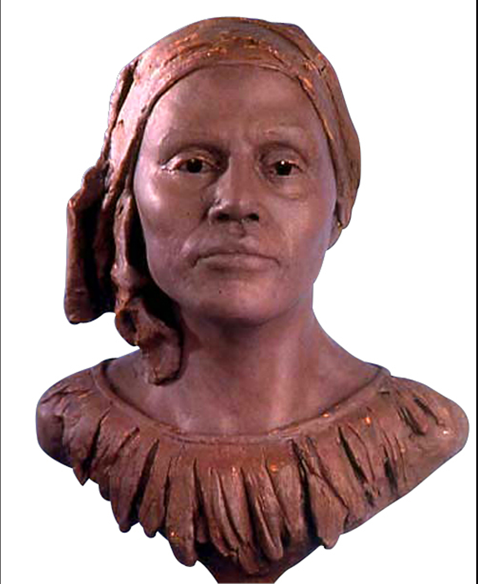 Woman of Pride, bronze, lifesize