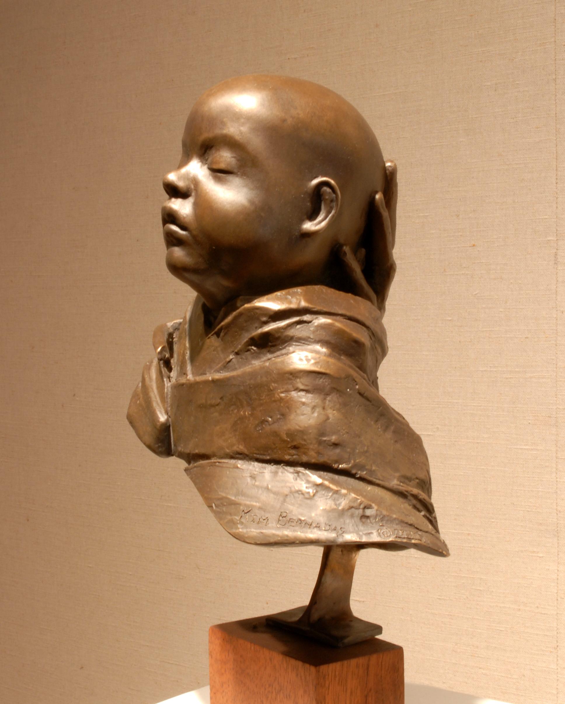 """Baby Grant, bronze, 13"""" H"""