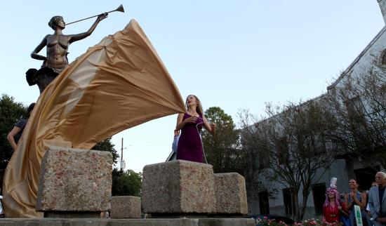Birth of a Muse Kim Bernadas Artist Sculpture