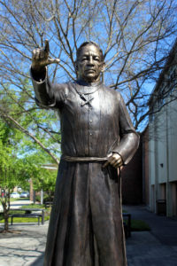 Brother Martin Sculpture by Artist Kim Bernadas