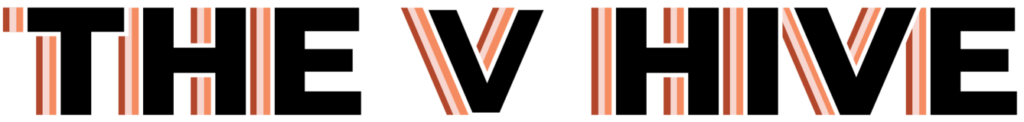 the v hive logo