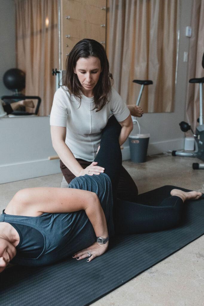 ronit sukenick providing pelvic floor rehabilatation
