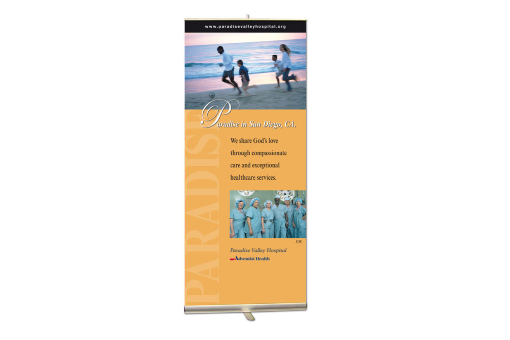Banner-display-paradise-valley-hospital