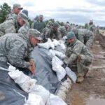 Image result for images: sandbags in floods