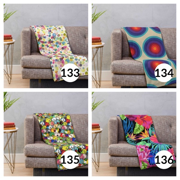 Colorful throw blanket list 1  33