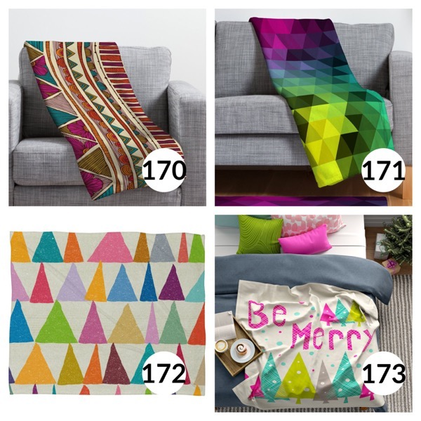 Colorful throw blanket list 1  42