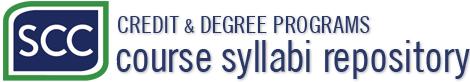 SCC Course Syllabi Repository