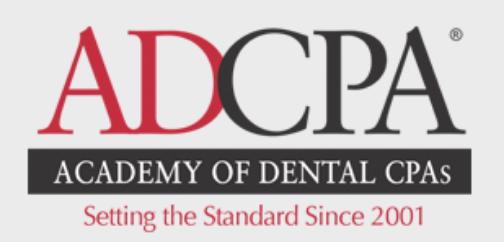 Academy of Dental CPAs logo