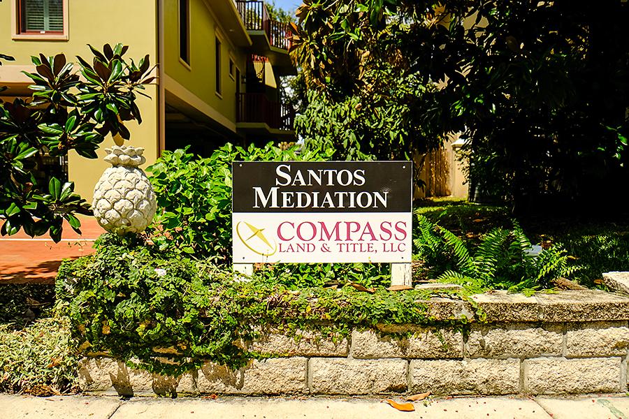Santos Mediation Sign