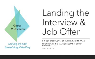 Landing the Interview & Job Offer Seminar