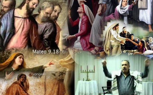 Healing is in the hem of his garment