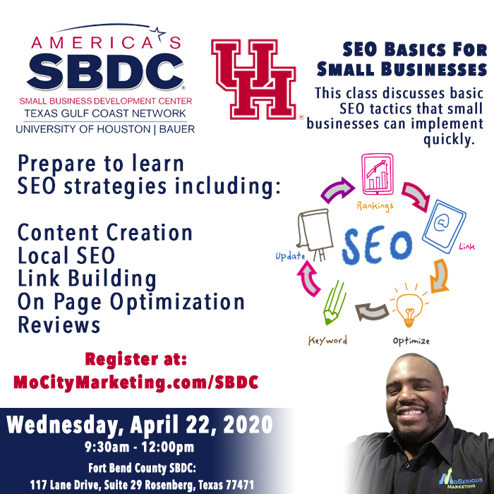 seo class in Houston