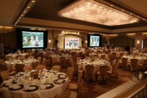 Ritz Ballroom setting