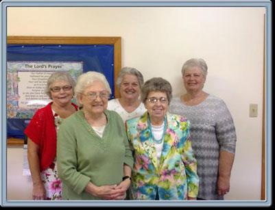 Ladies Aid Officers