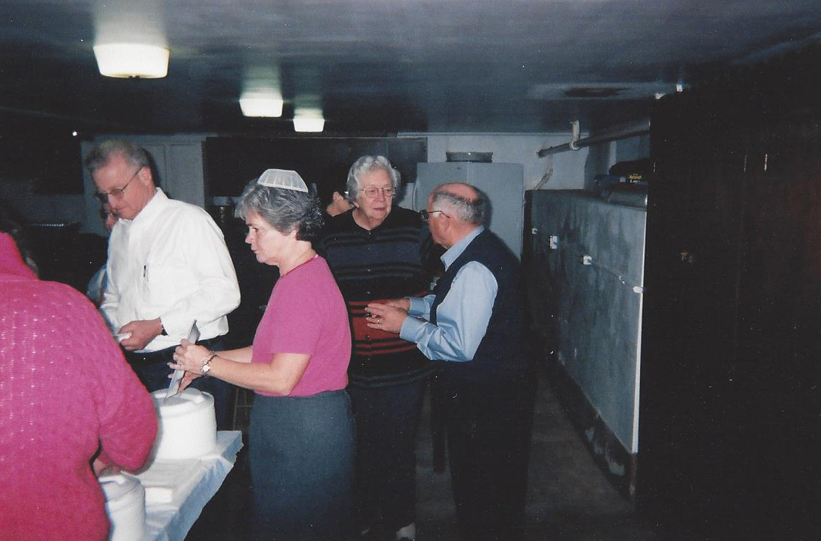 150th Anniversary - Lunch line