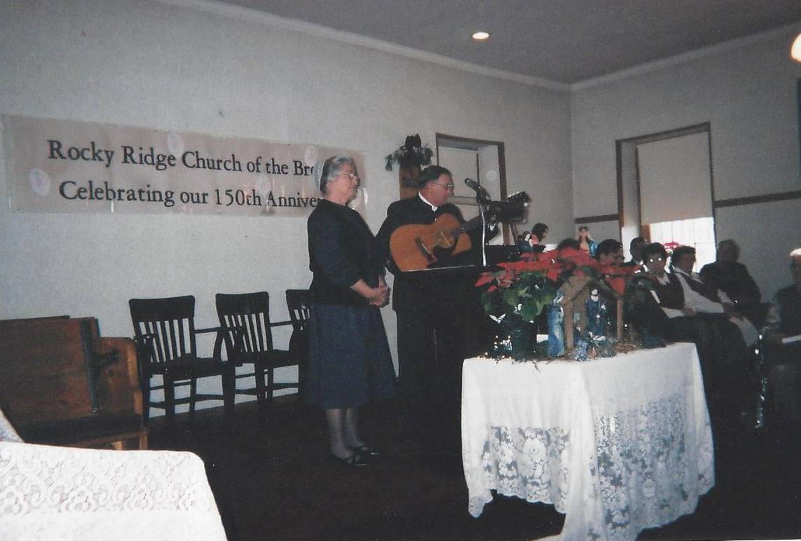 150th Anniversary - Garnet Myers and katie
