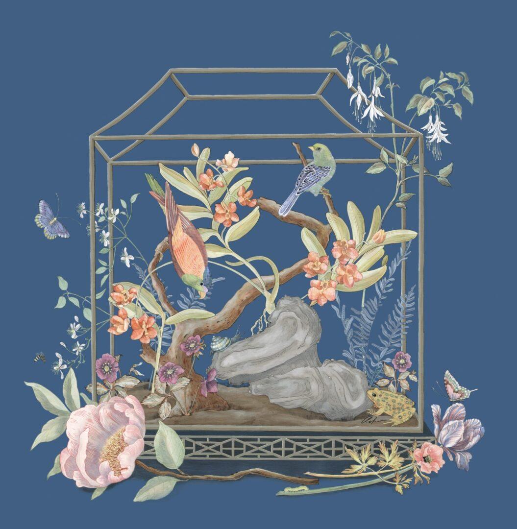 """""""Open House"""" by Allison Cosmos for Veranda"""