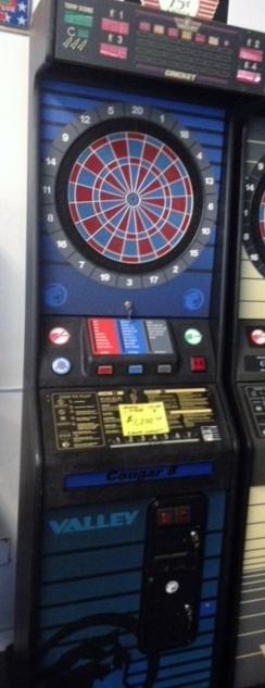 Cougar arcade game