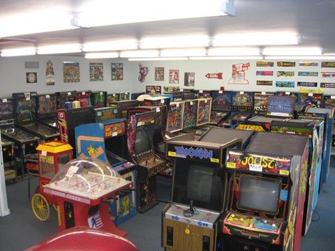 arcade game show room