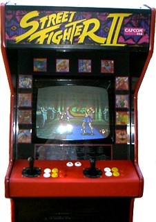 Street Fighter II arcade