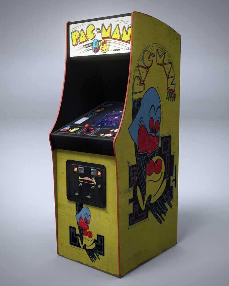 classic Pac Man arcade