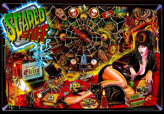 Scared Stiff - original collector quality!! $8,500.00