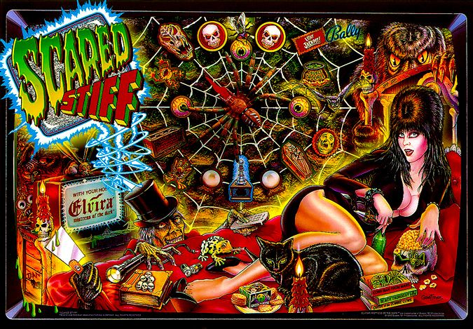 Scared Stiff - original collector quality!! $7,500.00
