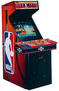 NBA Jam 4 Player -new control panel overlay with lexan  $1.800.00