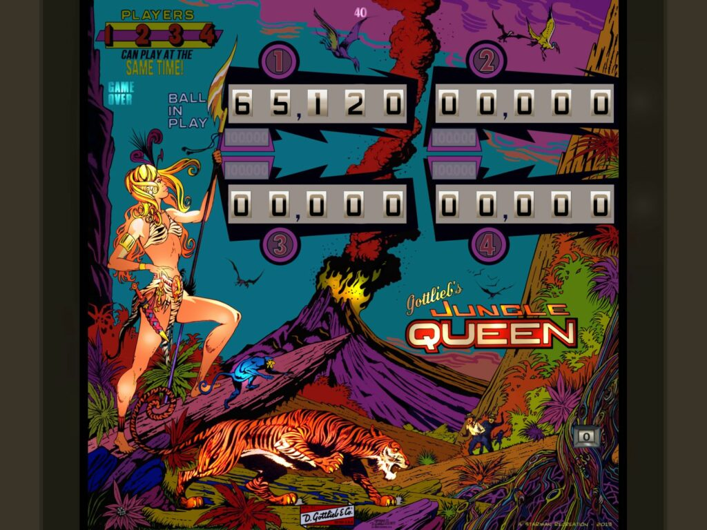 Jungle Queeen Pinball