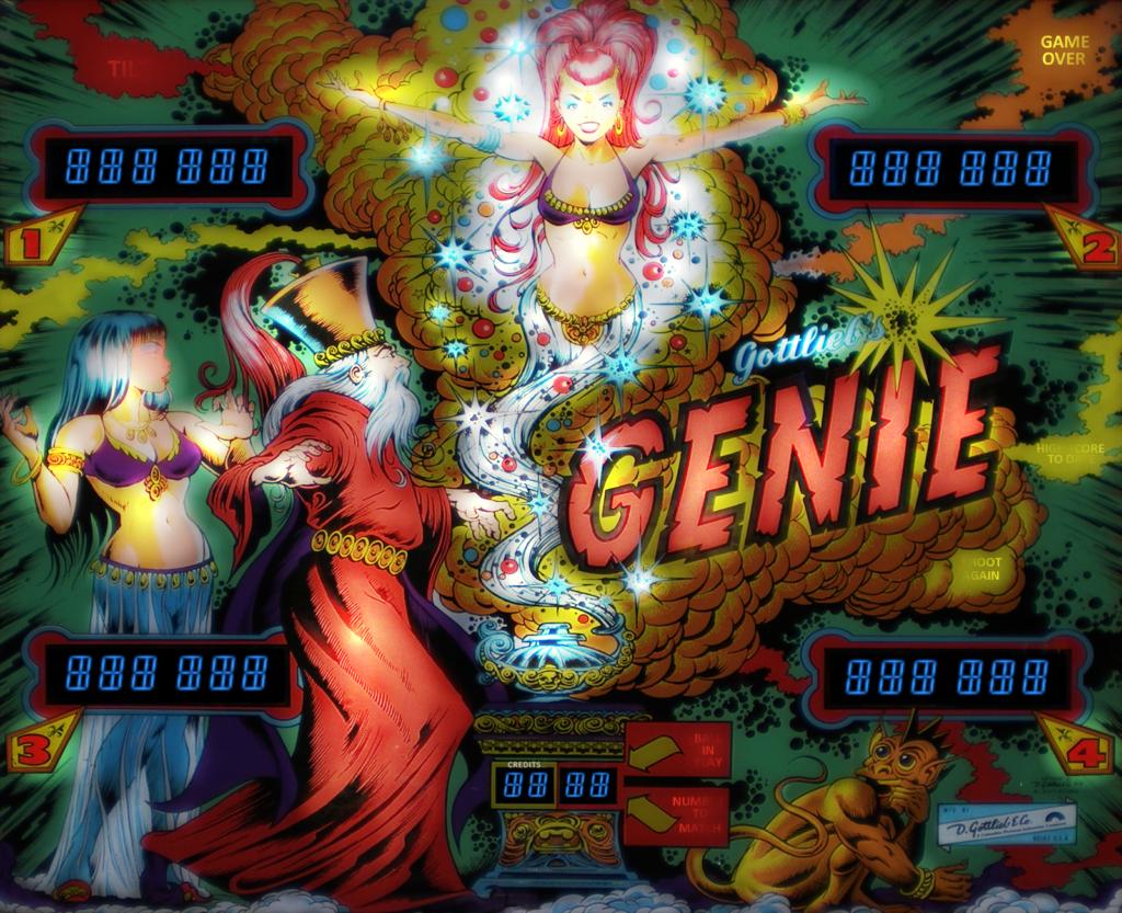 1979 Genie Gottlieb Pinball