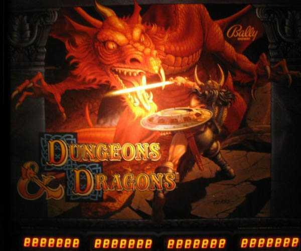 Dungeons & Dragons Pinball