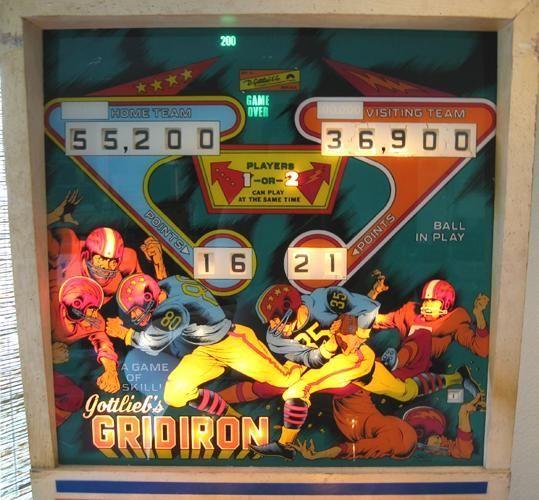 Gottlieb Gridiron Pinball