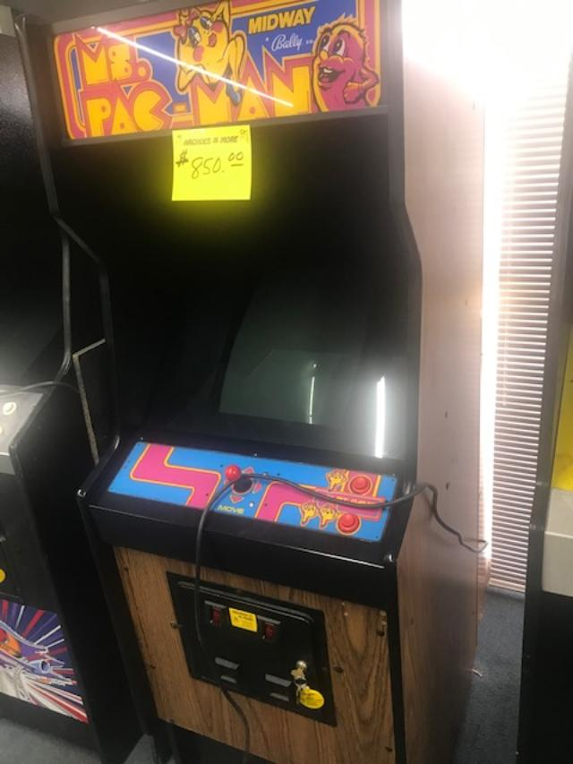 Ms. pacman conversion looks great! 850.00
