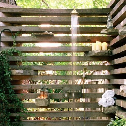 Deck Privacy Screen