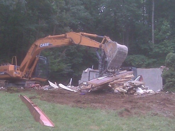 Carroll Bros. Contracting House Demolition in Gambrills