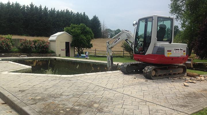 Carroll Bros Contracting equipment