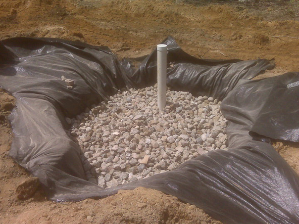 Carroll Bros. Contracting Stormwater Management Dry Well - Crofton, MD