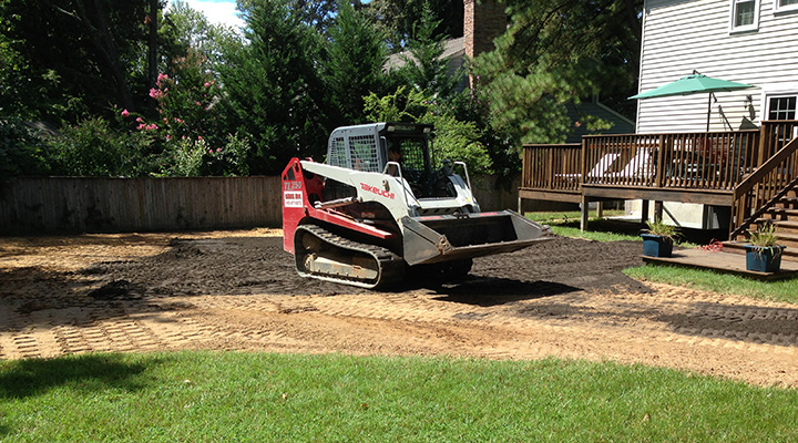 Carroll Bros Contracting finished pool removal