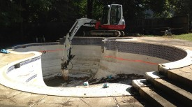 Carroll Bros Contracting pool removal