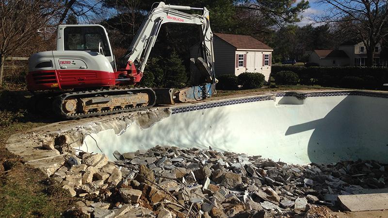 Columbia Maryland Pool Removal