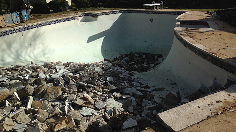 Columbia Maryland Pool Removal