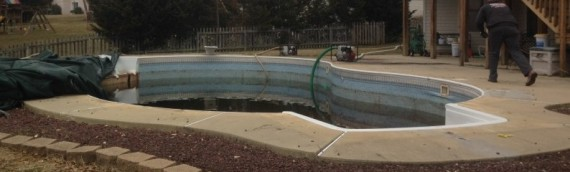 Elkridge Inground Pool Removal