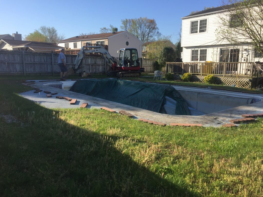 Hanover Pool Removal