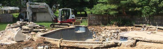 Ellicott City Inground Pool Removal