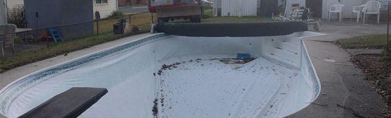 Glen Burnie Vinyl Liner Inground Pool Removal