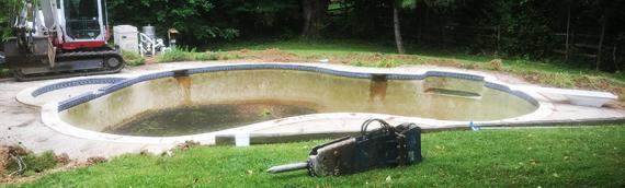 Ellicott City Pool Removal